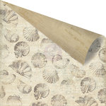 Prima - Seashore Collection - 12 x 12 Double Sided Paper - Sea Breeze