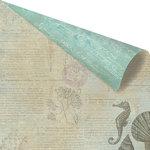 Prima - Seashore Collection - 12 x 12 Double Sided Paper - Sea Horse