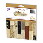 Prima - Time Travelers Memories Collection - 6 x 6 Paper Pad
