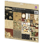 Prima - Time Travelers Memories Collection - 12 x 12 Collection Kit