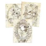 Prima - Paintables - 8 x 10 - Belle Fleur