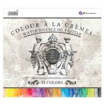 Prima - Colour A La Cremes - Water Soluble Oil Pastels - 24 Colors