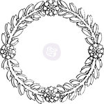 Prima - Iron Orchid Designs - Decor Transfers - Rub Ons - Medallion 4