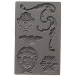 Prima - Iron Orchid Designs - Vintage Art Decor Mould - Baroque 1