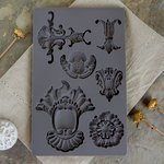Prima - Iron Orchid Designs - Vintage Art Decor Mould - Baroque 2