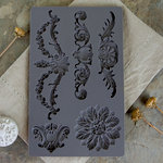 Prima - Iron Orchid Designs - Vintage Art Decor Mould - Baroque 3