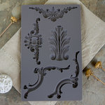 Prima - Iron Orchid Designs - Vintage Art Decor Mould - Baroque 4
