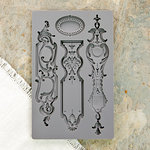 Prima - Iron Orchid Designs - Vintage Art Decor Mould - Escucheons 1