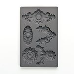 Prima - Iron Orchid Designs - Vintage Art Decor Mould - Escucheons 2