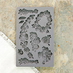 Prima - Iron Orchid Designs - Vintage Art Decor Mould - Fleur