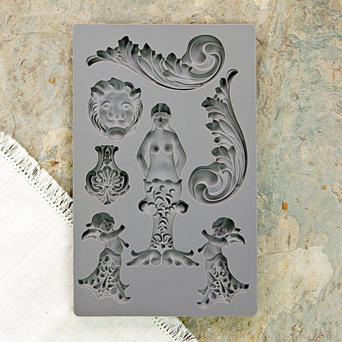 Prima - Iron Orchid Designs - Vintage Art Decor Mould - Nautica 2