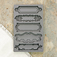 Prima - Iron Orchid Designs - Vintage Art Decor Mould - Object Labels 1