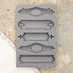 Prima - Iron Orchid Designs - Vintage Art Decor Mould - Object Labels 2