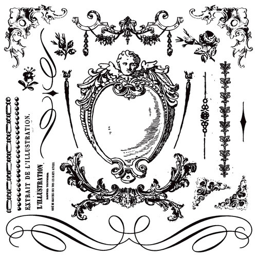 Prima - Iron Orchid Designs - Cling Mounted Stamps - Signage 2