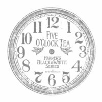 Prima - Iron Orchid Designs - Decor Transfer - Clock - 12 Inches
