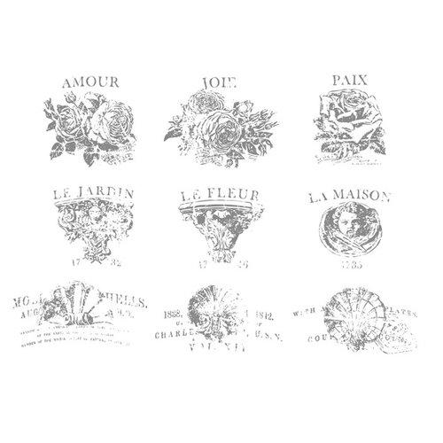 Prima - Iron Orchid Designs - Decor Transfer - French Pots V