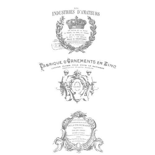 Prima - Iron Orchid Designs - Decor Transfer - French Pots III