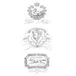 Prima - Iron Orchid Designs - Decor Transfer - French Pots IV