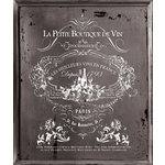 Prima - Iron Orchid Designs - Decor Transfer - Tall - White - Vin