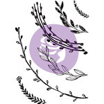 Prima - Iron Orchid Designs - Clear Acrylic Decor Stamps - Build A Wreath