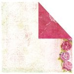 Prima - Wink Collection - 12 x 12 Double Sided Paper - Arbor Rose, BRAND NEW