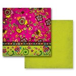 Prima - Paisley Road Collection - 12 x 12 Double Sided Paper - Bhangra