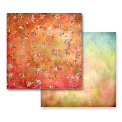 Prima - Fairy Flora Collection - 12 x 12 Double Sided Paper - Fairy Flora