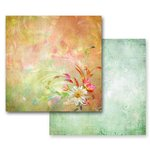Prima - Fairy Flora Collection - 12 x 12 Double Sided Paper - Sunny Day