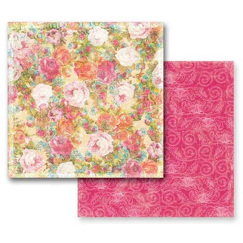 Prima - Annalee Collection - 12 x 12 Double Sided Paper - Ashton