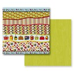 Prima - Road Trip Collection - 12 x 12 Double Sided Paper - Open Road, CLEARANCE
