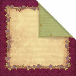 Prima - Back Stage Collection - 12 x 12 Double Sided Paper - Quadrille