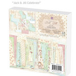 Prima - Celebrate Jack and Jill Collection - 6 x 6 Paper Pad