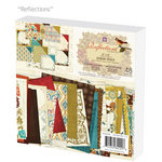 Prima - Reflections Collection - 6 x 6 Paper Pad