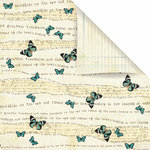 Prima - Reflections Collection - 12 x 12 Double Sided Paper - Shimmer