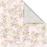 Prima - Sparkling Spring Collection - 12 x 12 Double Sided Paper - Petite Fleur