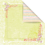 Prima - Sparkling Spring Collection - 12 x 12 Double Sided Paper - Amie