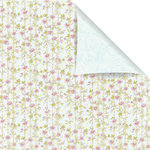 Prima - Sparkling Spring Collection - 12 x 12 Double Sided Paper - Emily