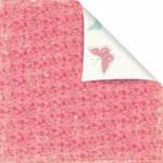 Prima - Sparkling Spring Collection - 12 x 12 Double Sided Paper - Berry Fresh