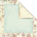Prima - Botanical Collection - 12 x 12 Double Sided Paper - Missing You
