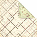 Prima - Botanical Collection - 12 x 12 Double Sided Paper - Far Far Away