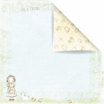 Prima - Celebrate Jack and Jill Collection - 12 x 12 Double Sided Paper - Happy Easter Jill