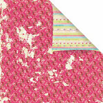 Prima - Sweet Fairy Collection - 12 x 12 Double Sided Paper - Very Cherry