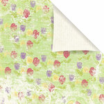Prima - Sweet Fairy Collection - 12 x 12 Double Sided Paper - Rosebud