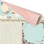Prima - Pixie Glen Collection - 12 x 12 Double Sided Paper - Dartmoor