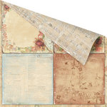 Prima - Romantique Collection - 12 x 12 Double Sided Paper - The Courts
