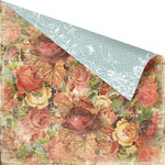 Prima - Romantique Collection - 12 x 12 Double Sided Paper - Estella