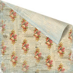 Prima - Romantique Collection - 12 x 12 Double Sided Paper - Hedgerow