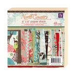 Prima - North Country Collection - Christmas - 6 x 6 Paper Pad
