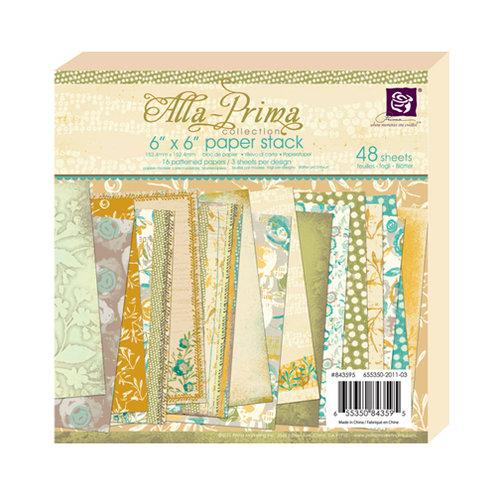 Prima - Alla Prima Collection - 6 x 6 Paper Pad