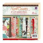 Prima - North Country Collection - Christmas - 8 x 8 Paper Pad